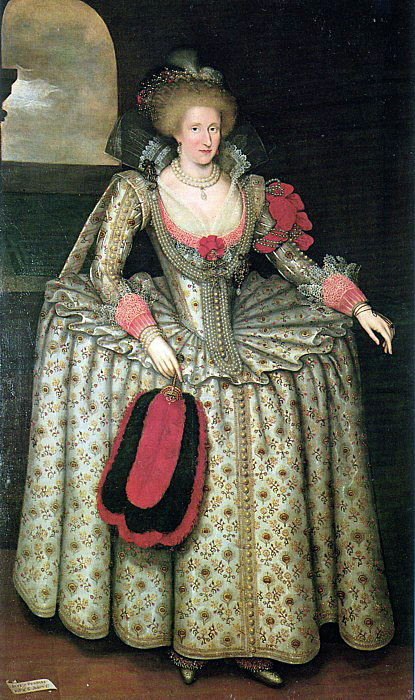 Anna of Denmark (Marcus Gheeraerts the Younger)