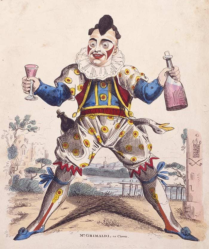 grimaldi the clown